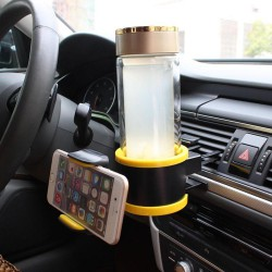 2-In-1 Multifunction Vehicle Cup Phone Holder
