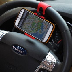 Car Steering Wheel Clip Phone Holder