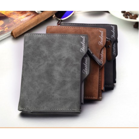 Wallet Men Soft Leather, with removable card slots